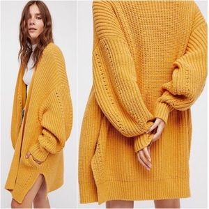 free people • nightingale cardigan sweater